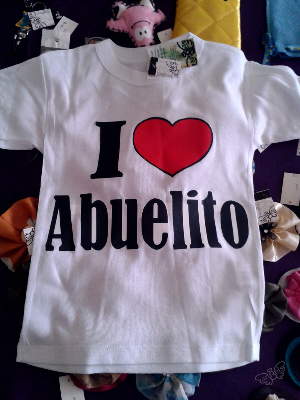 playera I love abuelito - angelsproject
