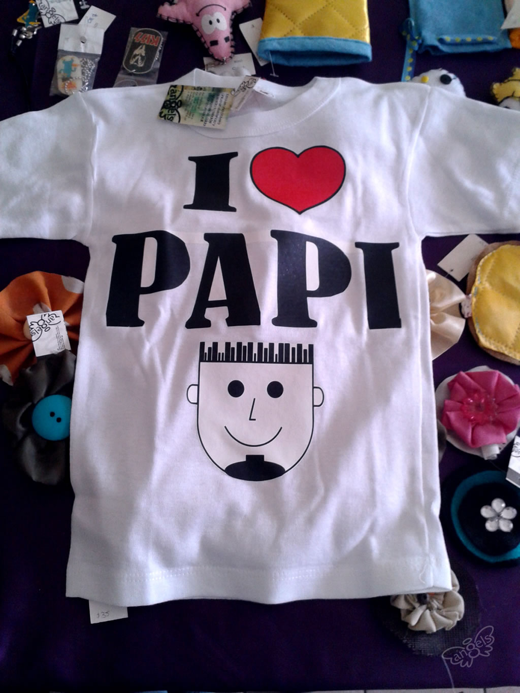 playera I love papi - angelsproject