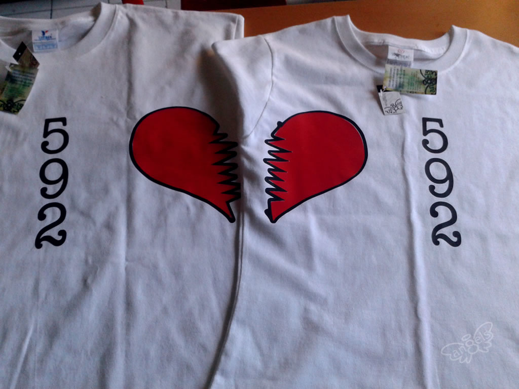 playera parejas - angelsproject