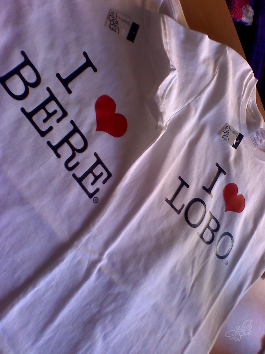 playeras para parejas - angelsproject