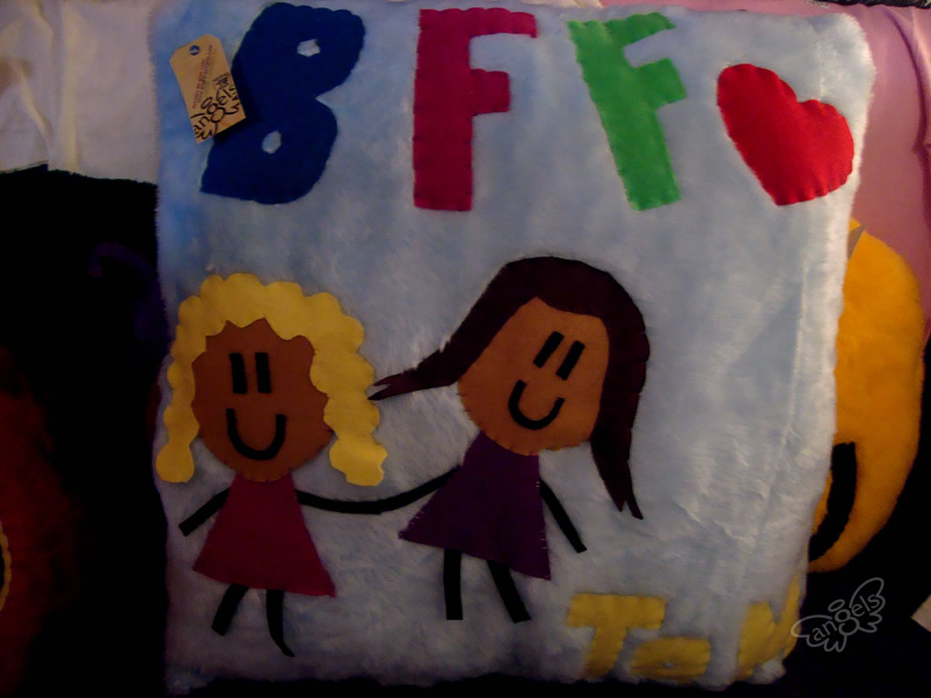 BFF almohada - angelsproject