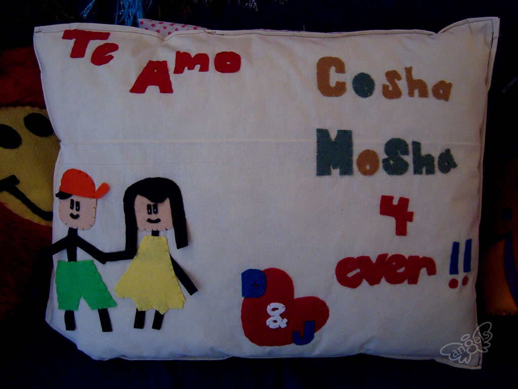 almohada personalizada - angelsproject