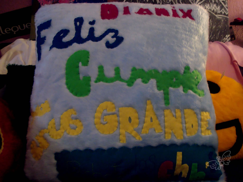 feliz cumple almohada - angelsproject