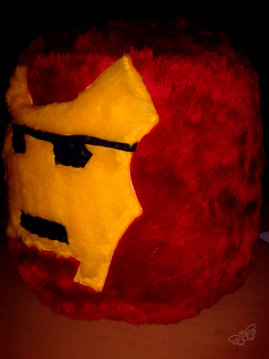 ironman de peluche - angelsproject
