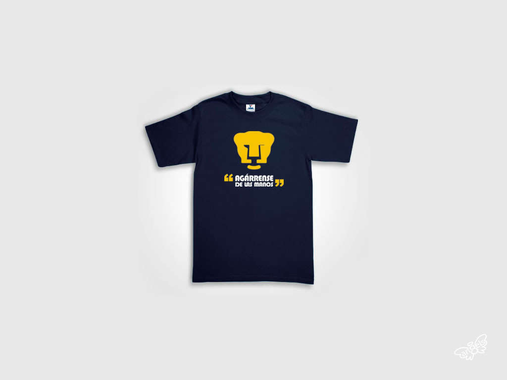 pumas soccer playera - angelsproject